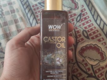 WOW Skin Science Castor Oil -Works good-By fg