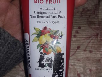 Biotique Bio Fruit Whitening & Depigmentation Face Pack -Great face pack-By sammy56