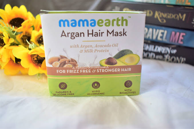 Mamaearth Argan Hair Mask -Wow-By pogostylecase