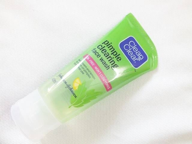 Clean And Clear Pimple Clearing Face Wash-Good-By pogostylecase