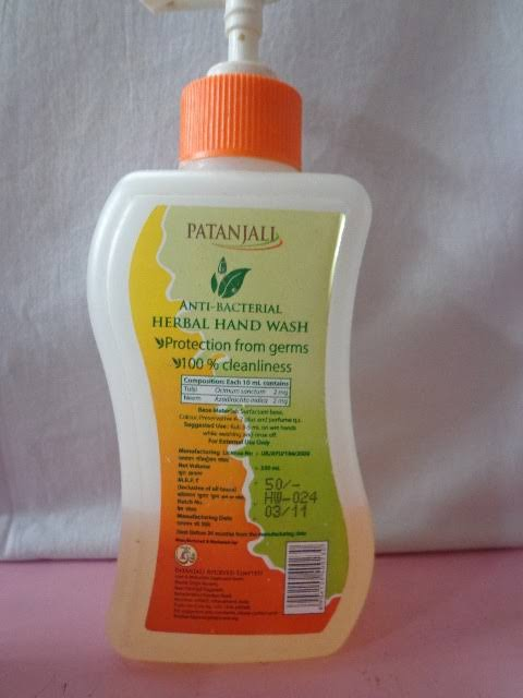 Patanjali Herbal Hand Wash-Nice-By pogostylecase