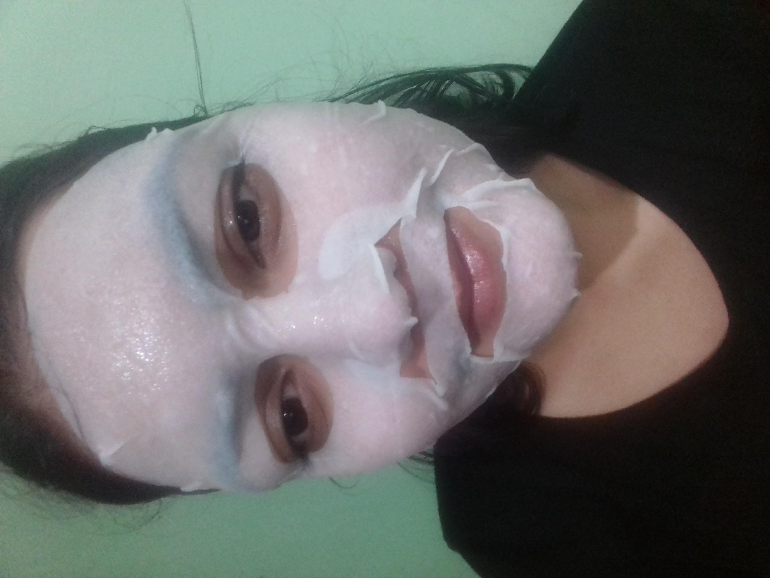 Garnier Skin Naturals Sakura White Face Serum Sheet Mask-Best sheet mask-By fg