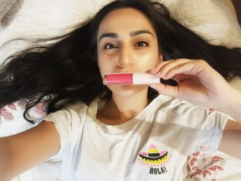 MyGlamm K.PLAY FLAVOURED LIPGLOSS – PASSION FRUIT CRUSH pic 2-Very Pigmented-By tanvi.chadha