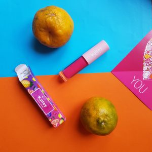 MyGlamm K.PLAY FLAVOURED LIPGLOSS – PASSION FRUIT CRUSH pic 1-Very Pigmented-By tanvi.chadha