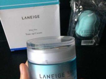 Laneige White Dew Tone Up Cream -Laneige-By bushraa