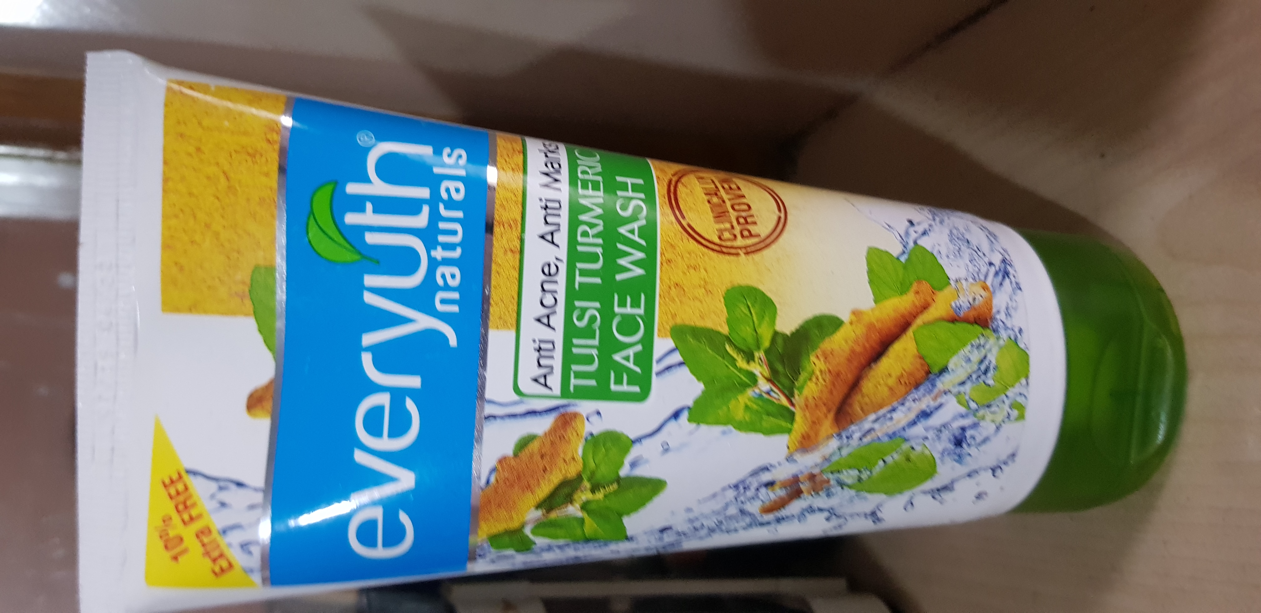 Everyuth Tulsi Turmeric Face Wash-Goodness of Nature!-By poonam_kakkar