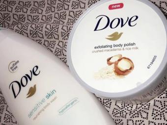 Dove Sensitive Skin Body Wash -Makes my skin soft-By diksha905