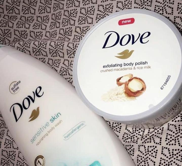 Dove Sensitive Skin Body Wash-Makes my skin soft-By diksha905