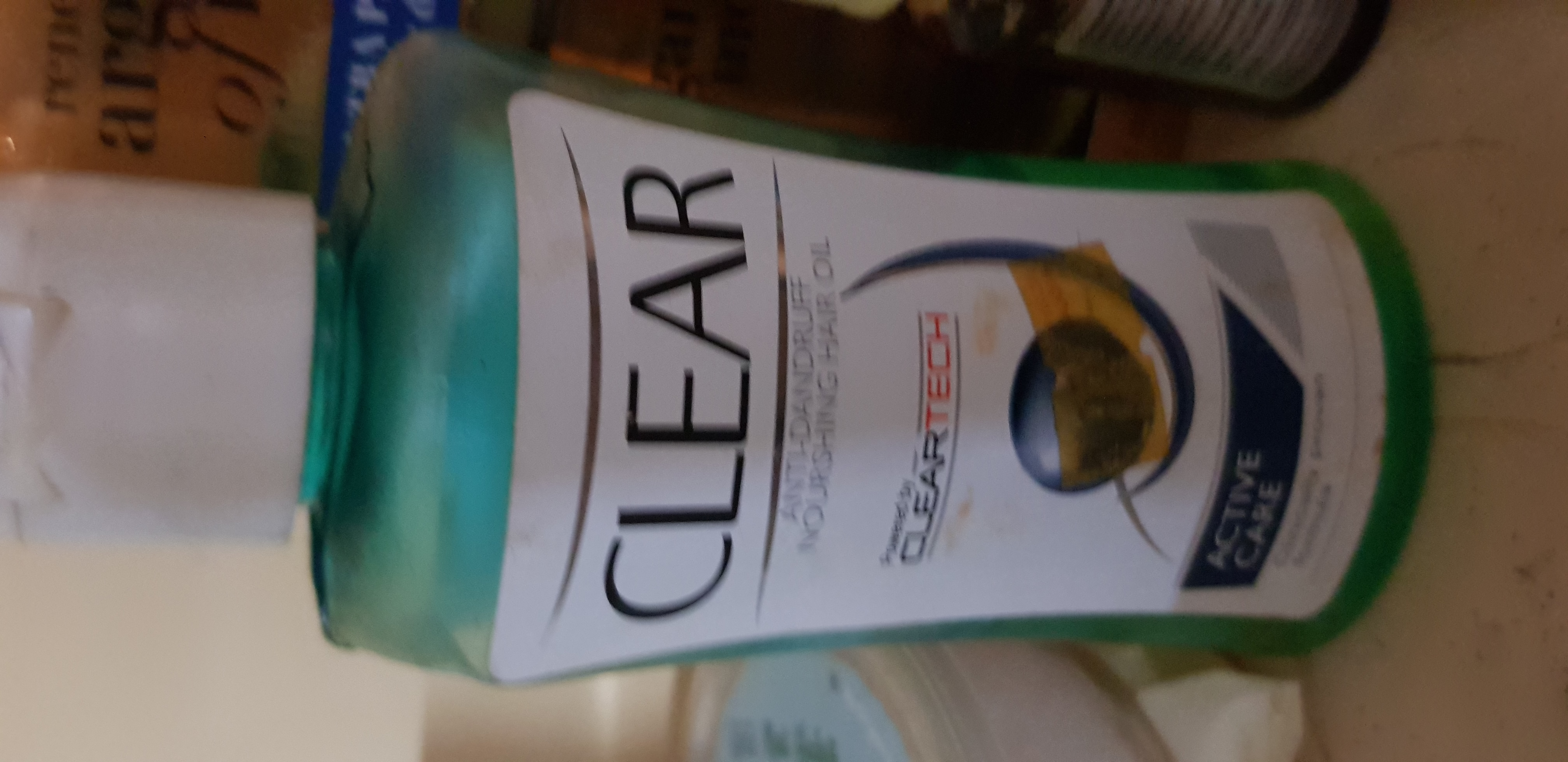 Clear Anti-Dandruff Active Care Nourishing Hair Oil -Makes hair dandruff free after wash!-By poonam_kakkar