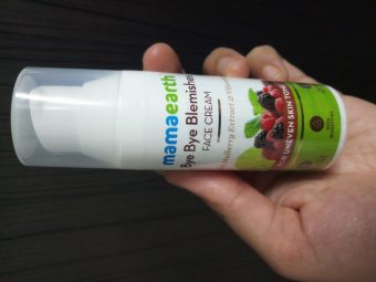Mamaearth Bye Bye Blemishes Face Cream pic 2-Dark Circles faded away-By vaishali_0111