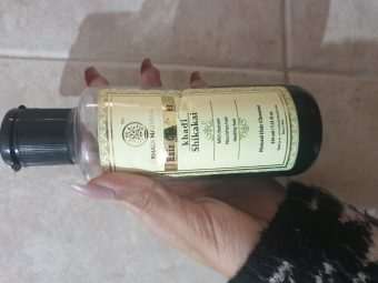 Khadi Natural Amla & Bhringraj Hair Cleanser pic 2-Amazing hair cleanser-By vitika_singh