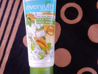 Everyuth Tulsi Turmeric Face Wash -Soft skin face wash-By praiselin19