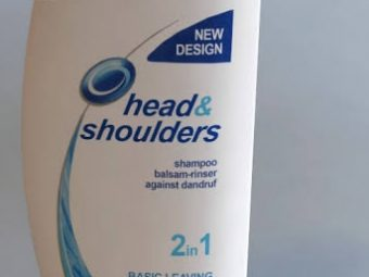 Head & Shoulders Smooth And Silky Shampoo -Works well-By pogostylecase