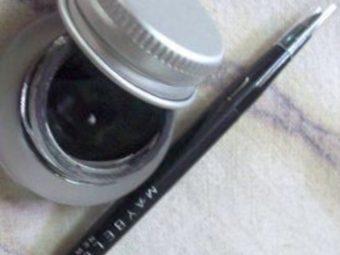 Maybelline Eye Studio Lasting Drama Gel Liner -Maybelline gel eyeliner-By simranwalia29
