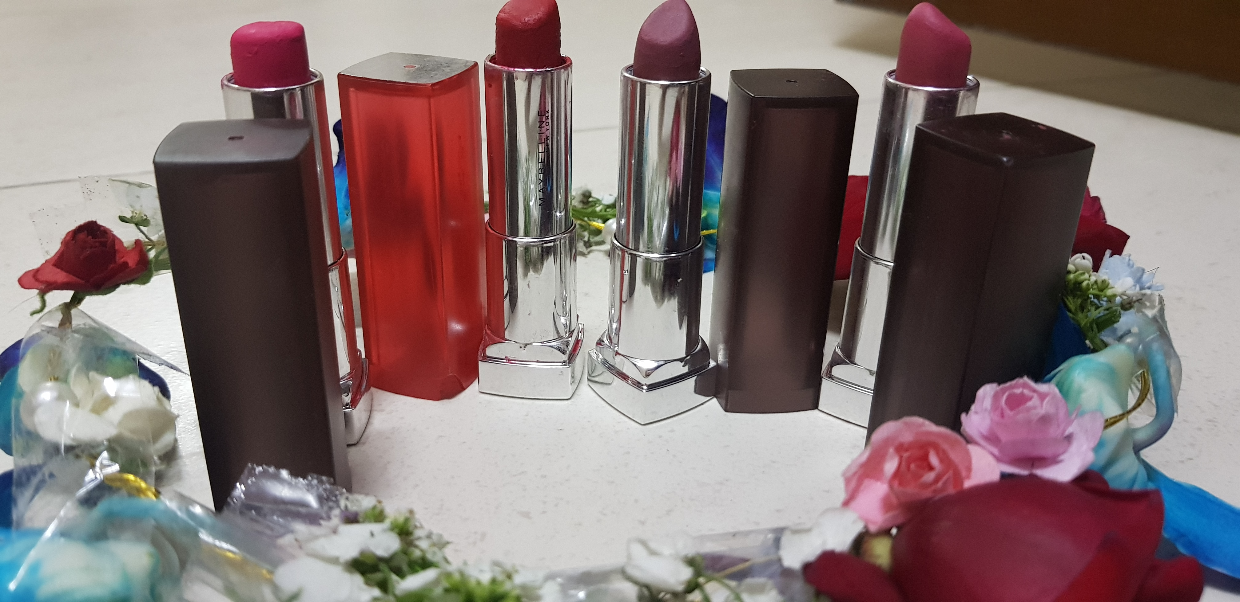 Maybelline New York Color Sensational Powder Matte Lipstick-Matte lipstick!-By poonam_kakkar-2