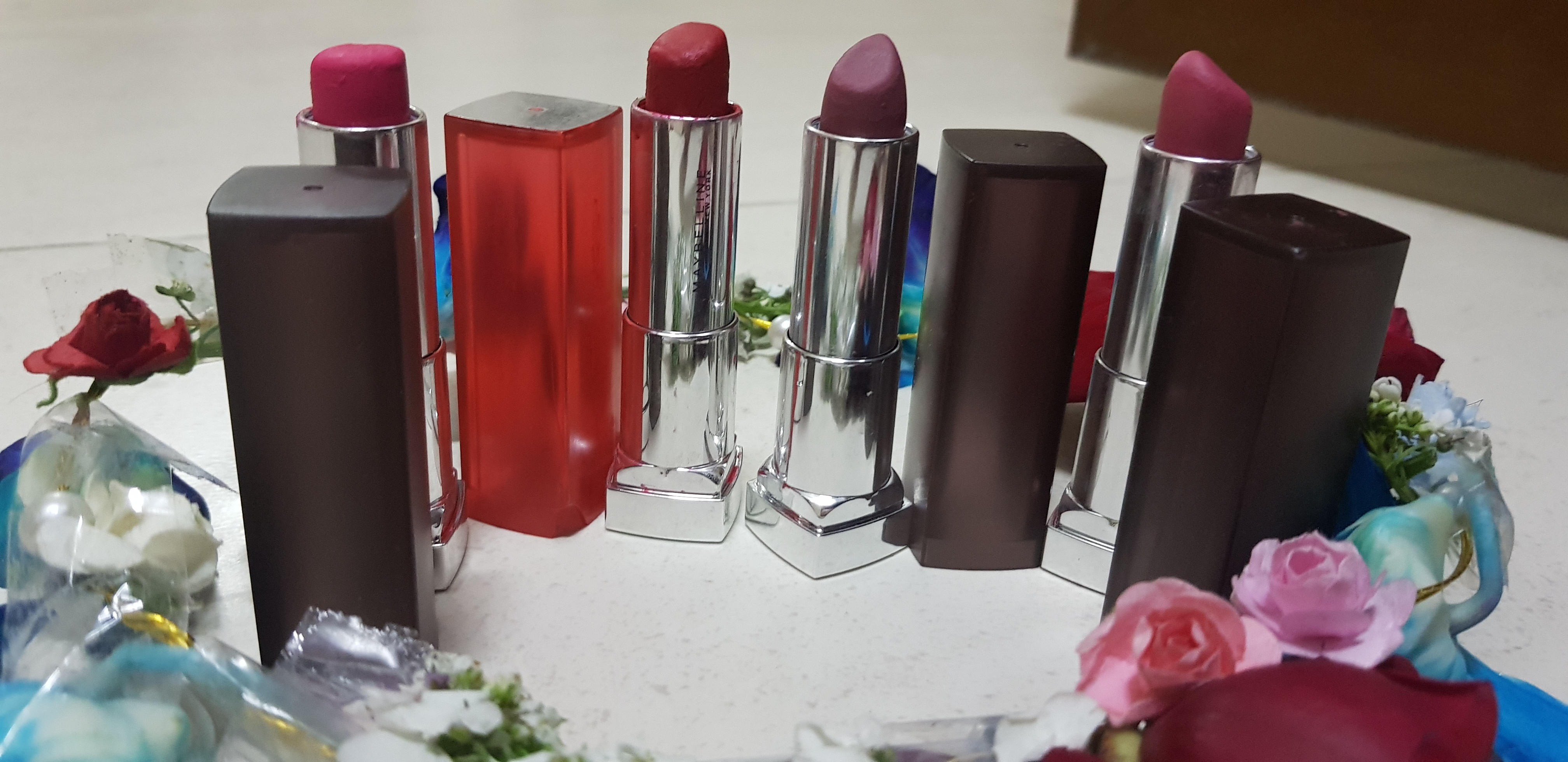 Maybelline New York Color Sensational Powder Matte Lipstick-Matte lipstick!-By poonam_kakkar-1