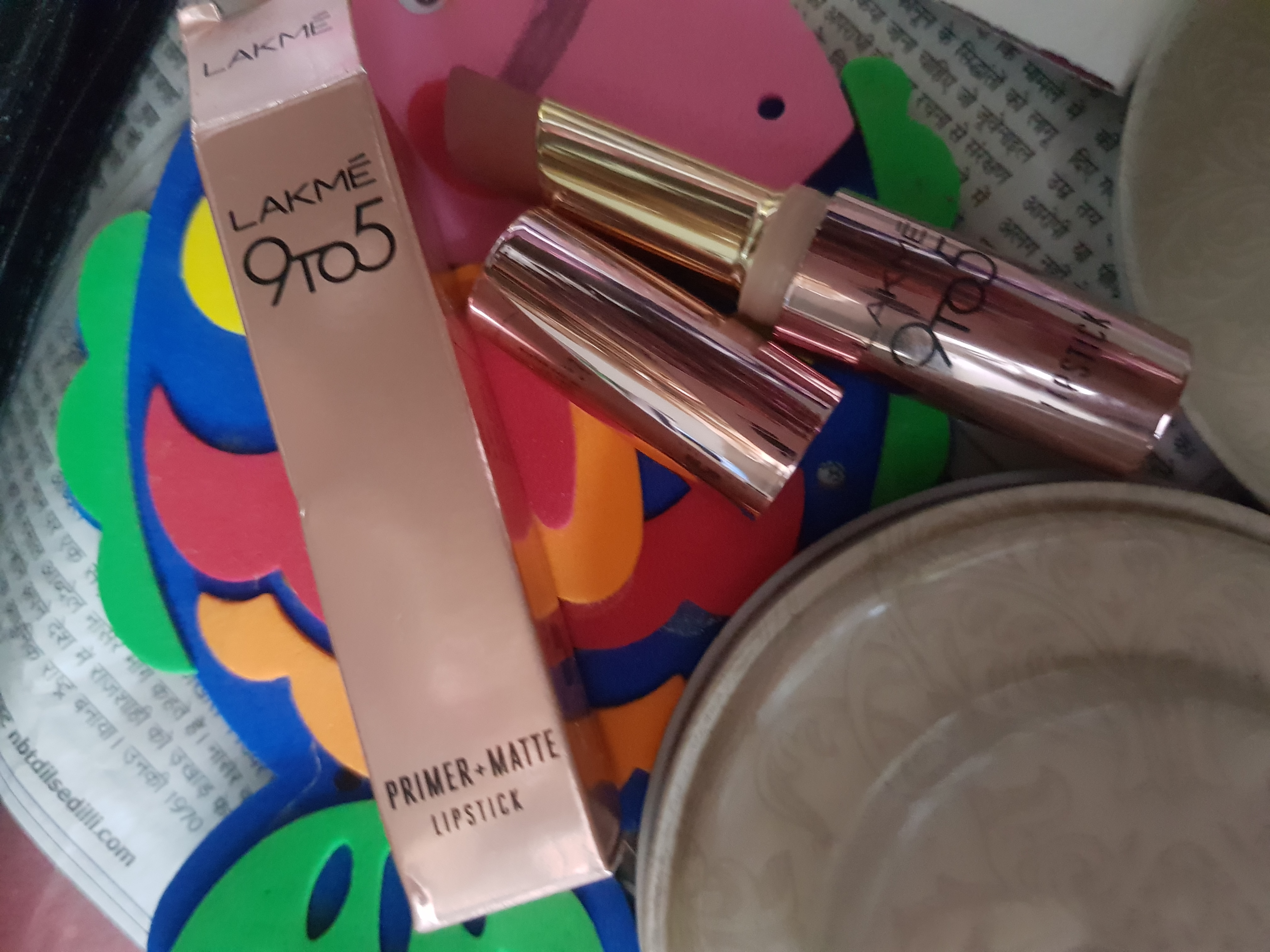 Lakme 9 To 5 Primer + Matte Lip Color-For perfect Lips!-By poonam_kakkar