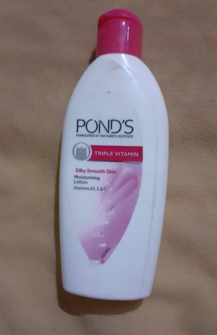 Pond's Triple Vitamin Moisturising Lotion-Nostalgic Floral Fragrance-By vanitylove