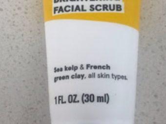 Acure Brightening Facial Scrub -Acure facial scrub-By simranwalia29