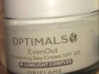 Oriflame Optimals Even Out Preventing Day Cream -Sun protection-By vanitylove