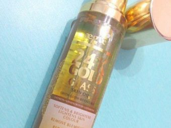 Aegte 24K Gold Glass Skin Oil (with Glow Boosters) Enriched with Saffron, Sandalwood and Jatamansi -Gives glass skin-By simranwalia29