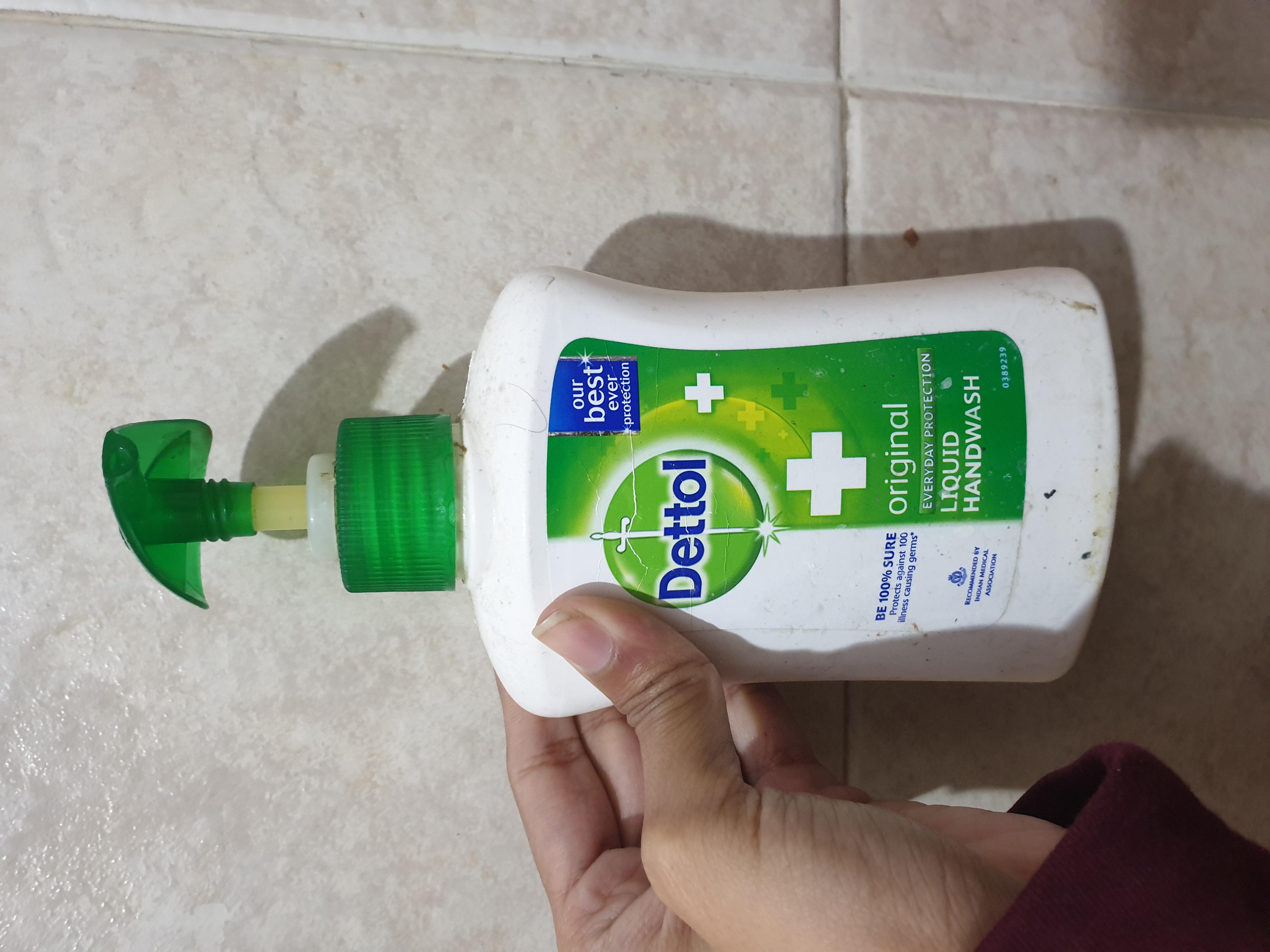 Dettol Original Liquid Hand Wash-Most effective hand wash-By vitika_singh