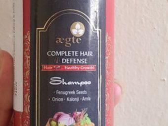 Aegte Complete Hair Defense Shampoo Enriched with Red Onion, Fenugreek Seeds, Kalonji & Amla -Hair defense shampoo-By simranwalia29