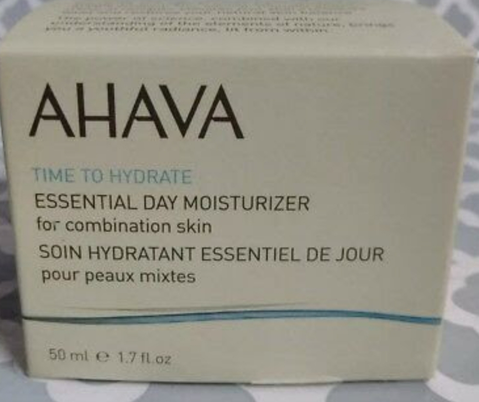 AHAVA Time To Hydrate Essential Day Moisturizer Combination Skin-AHAVA moisturizer-By simranwalia29