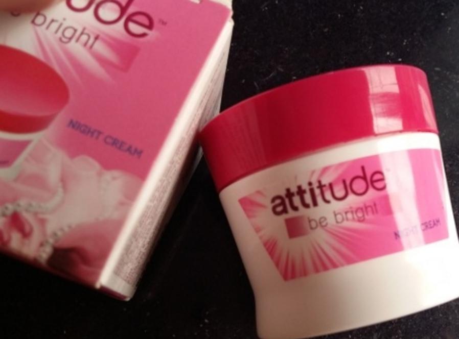 Amway Attitude Be Bright Night Cream -Amway night cream-By simranwalia29