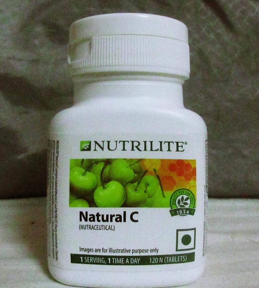 Amway Nutrilite Natural C – 120 Tablets -Amway natural C-By simranwalia29