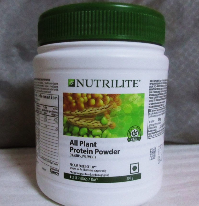 Amway Nutrilite All Plant Protein Powder -Amway protien powder-By simranwalia29