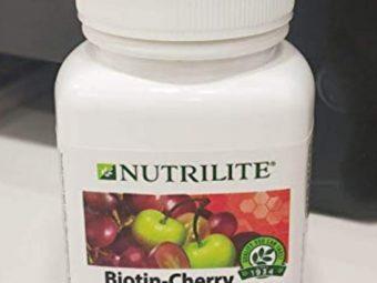Amway Nutrilite Biotin Cherry Plus Tablets -Amway biotin cherry plus-By simranwalia29