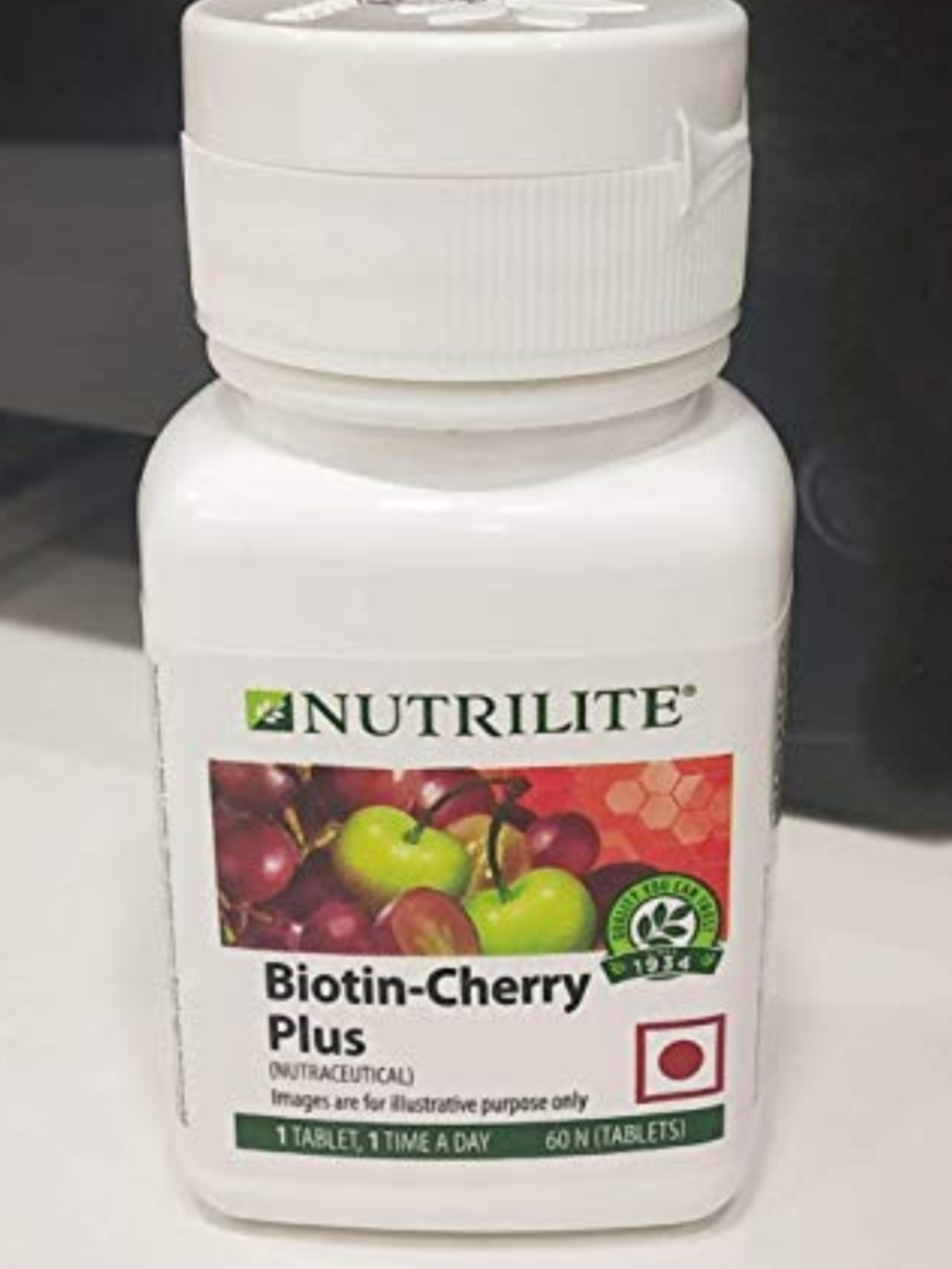 Amway Nutrilite Biotin Cherry Plus Tablets-Amway biotin cherry plus-By simranwalia29