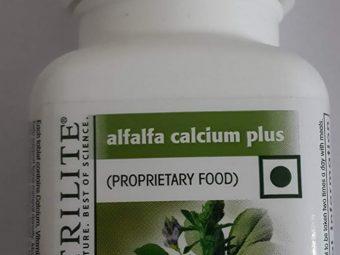 Amway Nutrilite Alfalfa Calcium Plus 90 N Tablets -Amway alfalfa calcium tablets-By simranwalia29