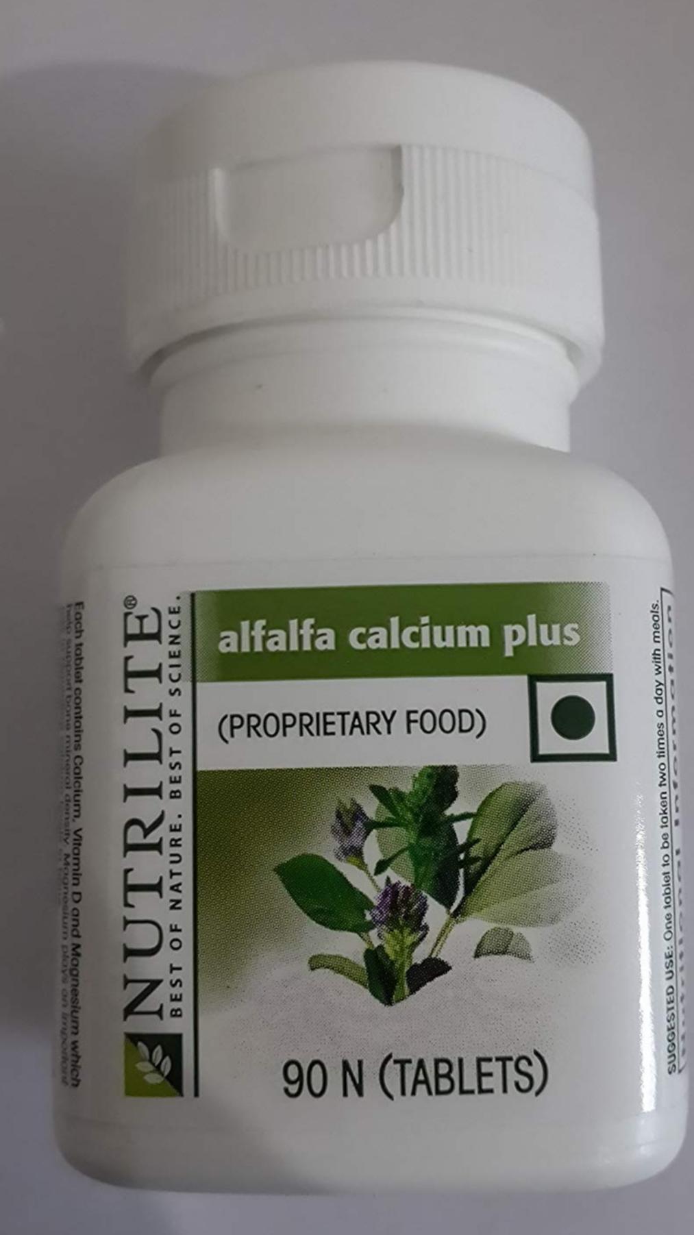 Amway Nutrilite Alfalfa Calcium Plus 90 N Tablets-Amway alfalfa calcium tablets-By simranwalia29