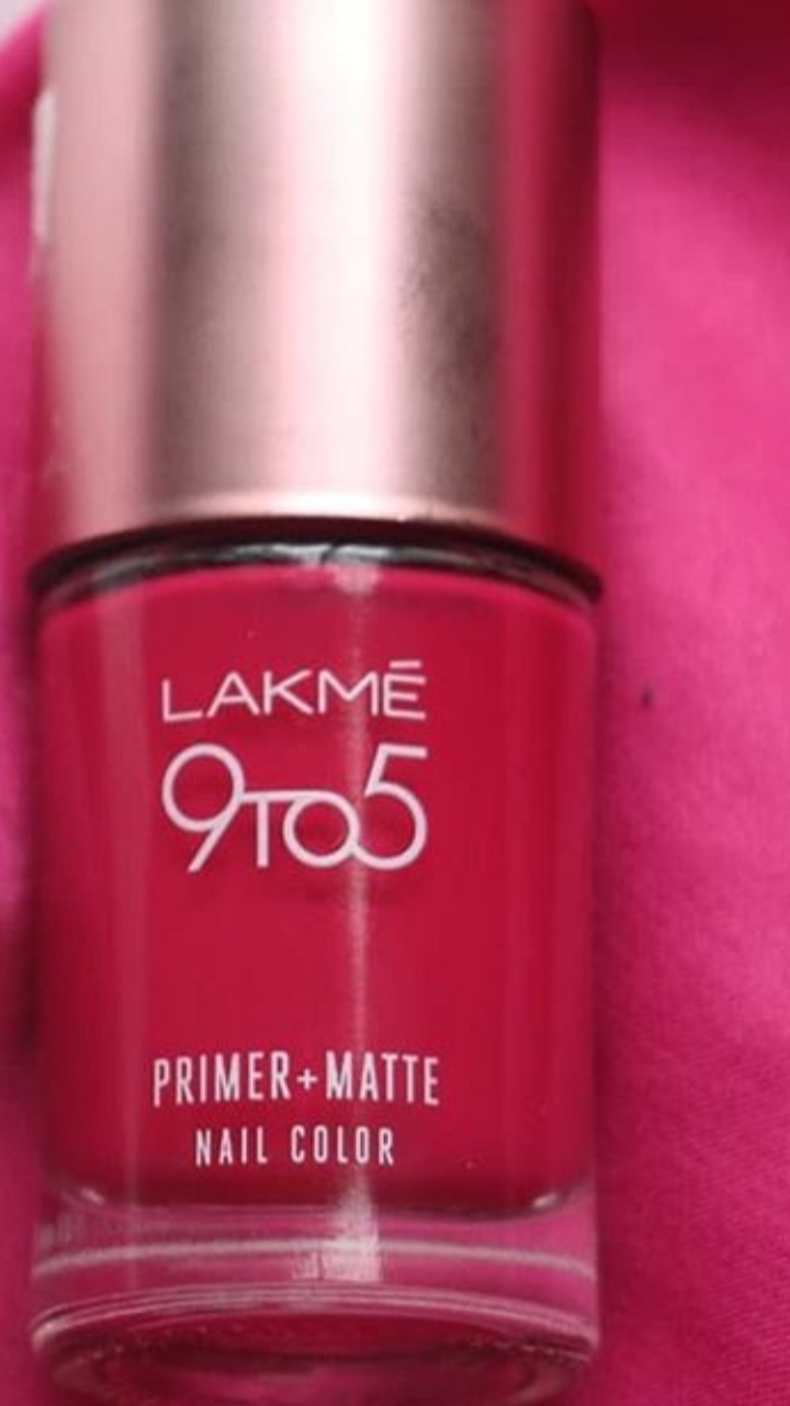 Lakme 9 To 5 Long Wear Nail Color-Pretty Shades-By vanitylove