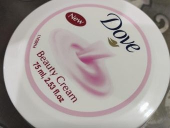 Dove Beauty Cream -Facial cream-By vanitylove