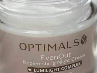 Oriflame Optimals Even Out Night Cream -Rich cream-By vanitylove