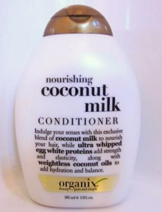 OGX Coconut Milk Conditioner-Add luster to the hair-By vanitylove