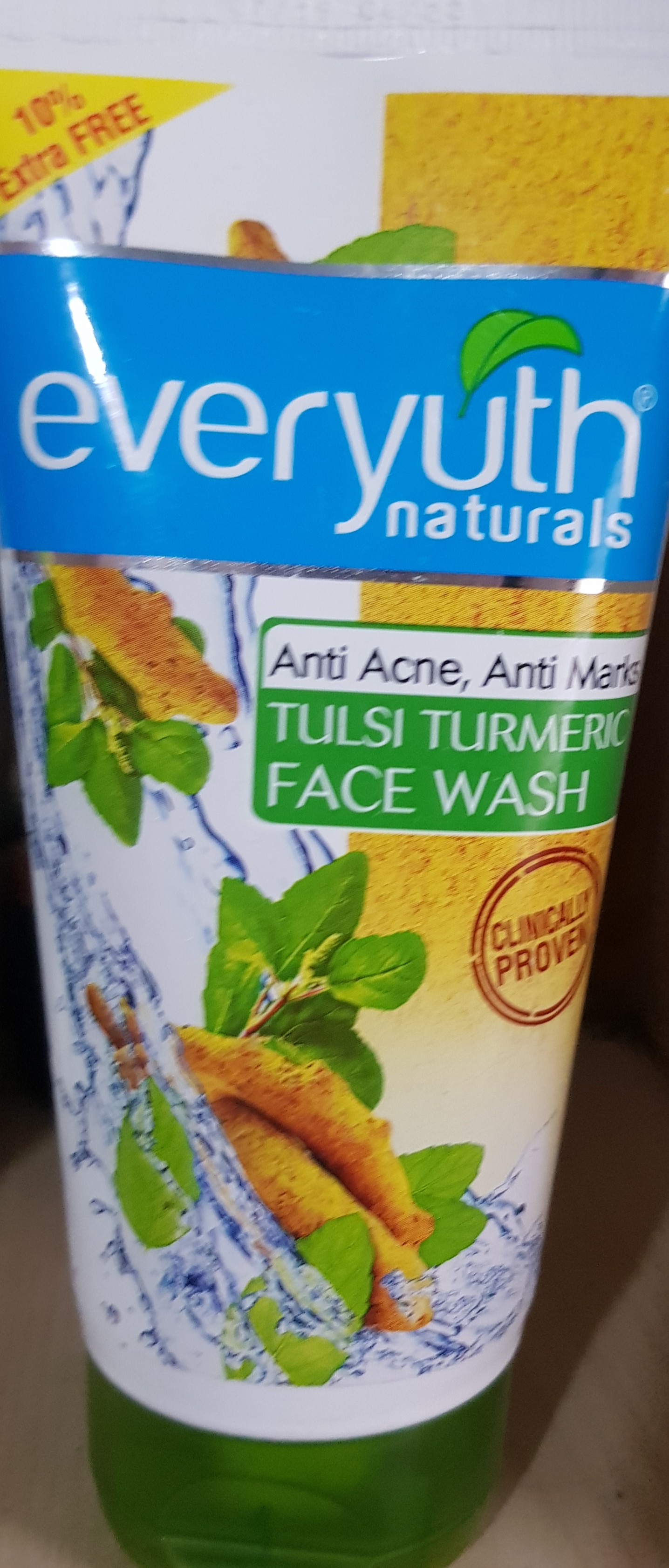 Everyuth Tulsi Turmeric Face Wash-Controls Oil-By vaishali_0111
