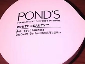 Ponds White Beauty Anti Spot Fairness SPF 15 Day Cream -Lightens skin-By vaishali_0111