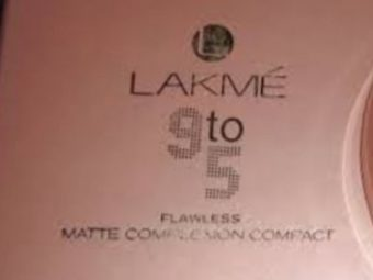 Lakme 9 To 5 Primer + Matte Powder Foundation Compact -Blends easily-By vaishali_0111