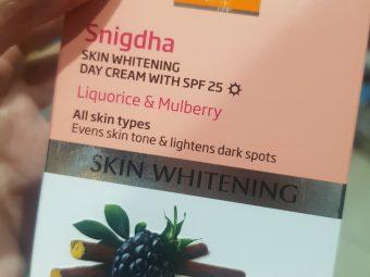 VLCC Snigdha Skin Whitening Day Cream SPF 25 -For bright face!-By poonam_kakkar