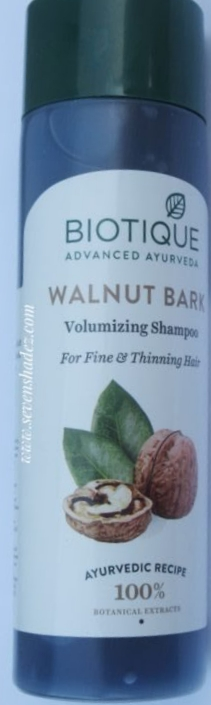 Biotique Bio Walnut Bark Volumizing Shampoo For Fine & Thinning Hair -Gives Volume to hairs-By vaishali_0111