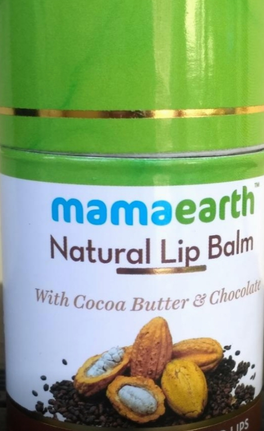 Mamaearth Natural Lip Balm-Moisturizes Lips-By vaishali_0111