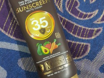 WOW Skin Science Matte Finish Sunscreen Lotion SPF 35 PA++ -Sulphate free sunscreen!-By poonam_kakkar