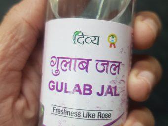Patanjali Divya Gulab Jal (Rose Water) -Cool and refreshing!-By poonam_kakkar