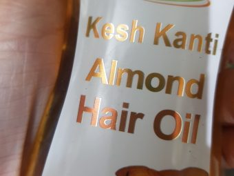 Patanjali Kesh Kanti Almond Hair Oil -Goodness of sesame and almond oil extracts!-By poonam_kakkar