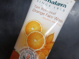 Himalaya Tan Removal Orange Face Wash -Remove Tanning with this Organy Face wash!-By poonam_kakkar