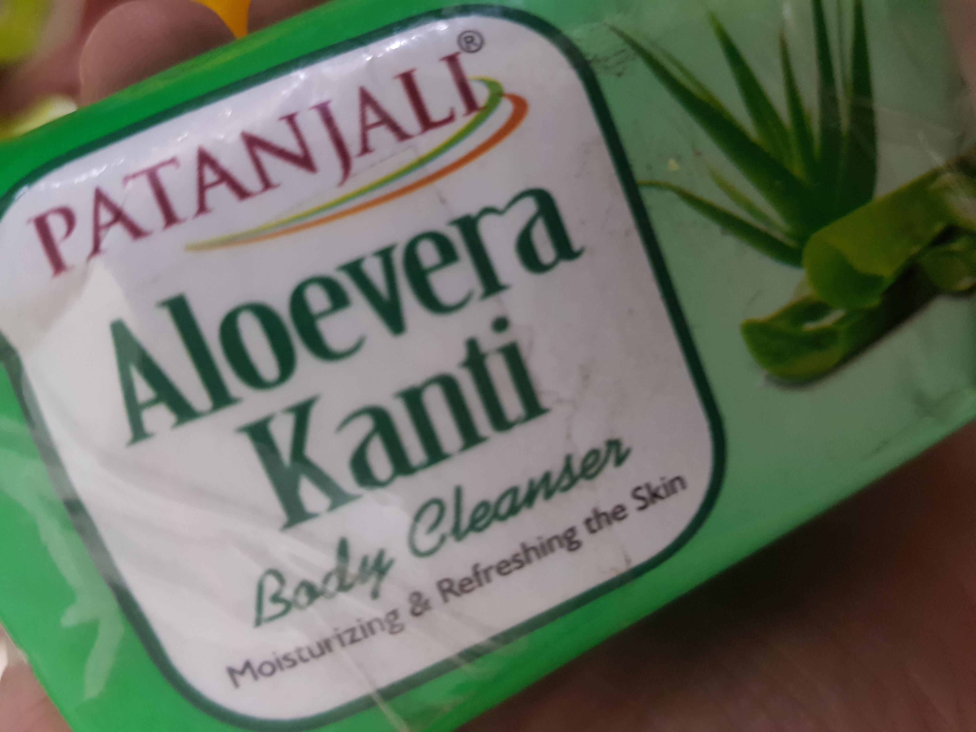 Patanjali Aloevera Kanti Body Cleanser-Aloe Vera!-By poonam_kakkar-1